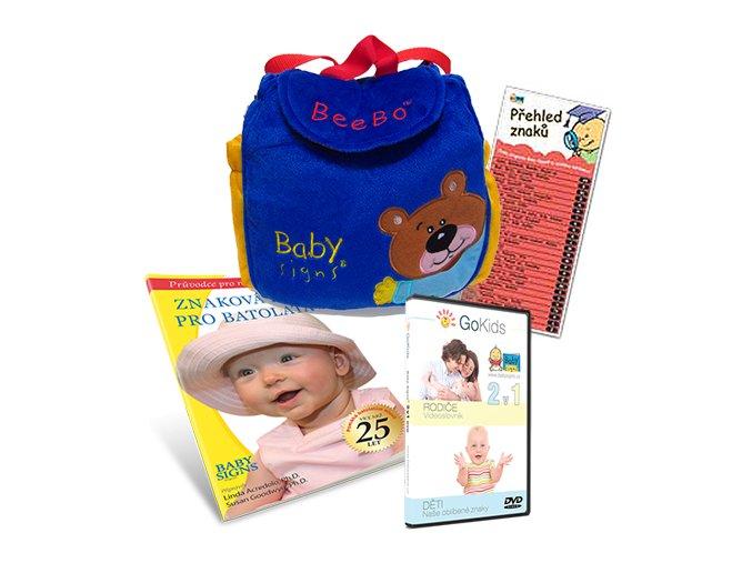 Sada pro znakování miminek Baby Signs