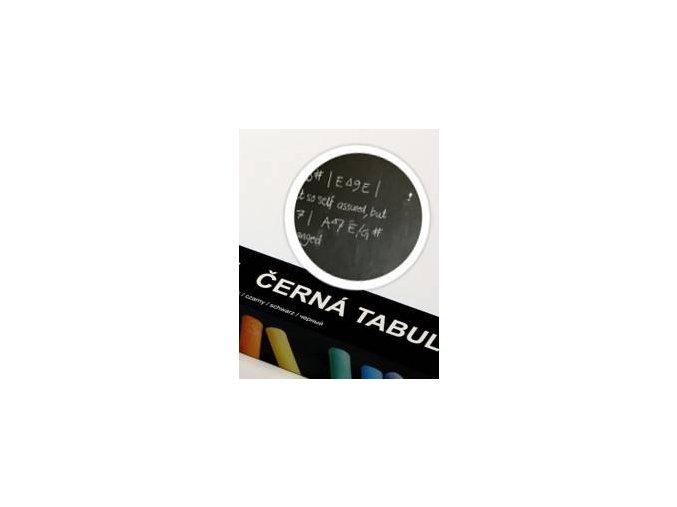 Samolepící tabule 67,5x150cm černá