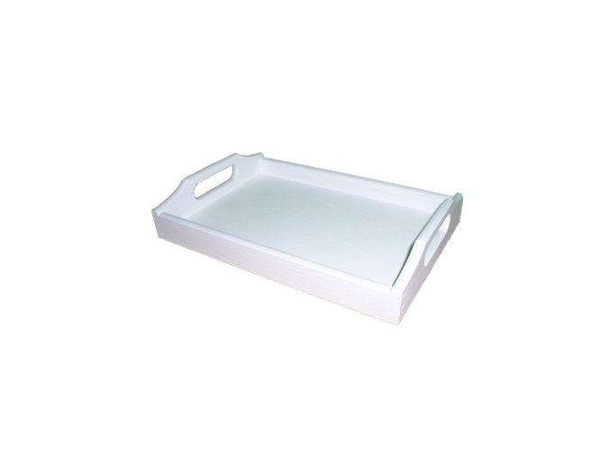 Tác Montessori 30x20cm bílý