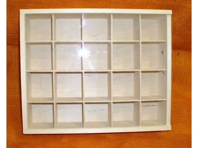 Třídící box 20 přihrádek