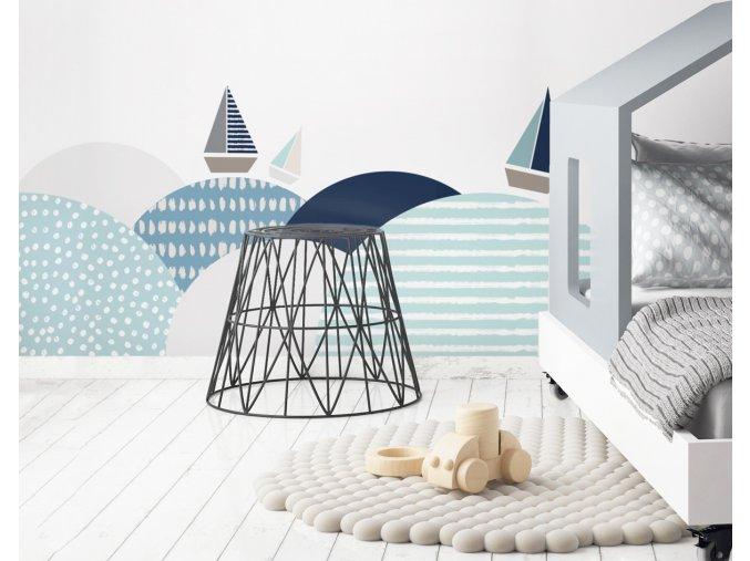 Dekorace za postel DEKORNIK - Jižní vlny ZAL.004
