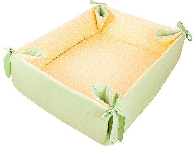 Ohrádka/hrací deka zelená