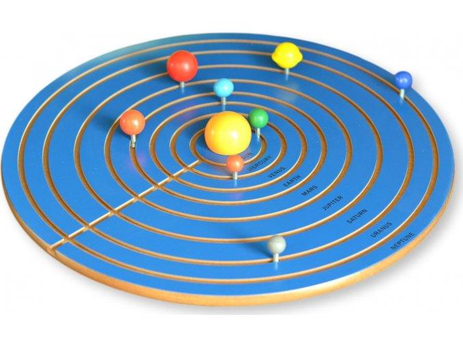 Nové puzzle - mapa - 9 planet