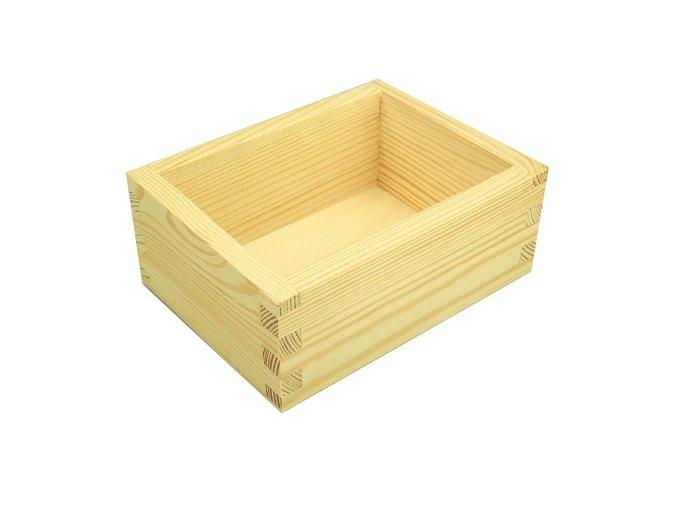 krabicka drevena mala