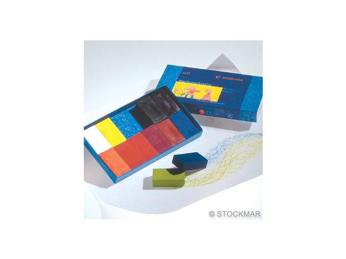 606 voskovky Stockmar blocky 12ks
