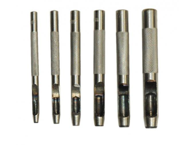 Sada průbojníků 3-8mm 6ks
