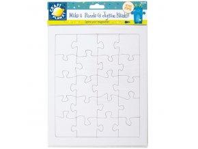 Kartonové puzzle podklad 2ks