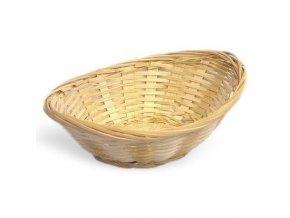 Košík bambus ovál 26x20cm 3