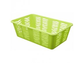 Košík Zebra 25x15,8x8cm zelená