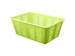 Košík Zebra 30x20x11cm zelená
