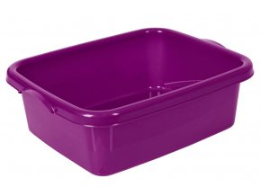 Lavor hranatý fialový 10l