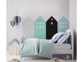 Dekorace za postel DEKORNIK  - Amsterdam máta DEKO.N.ZAL.007