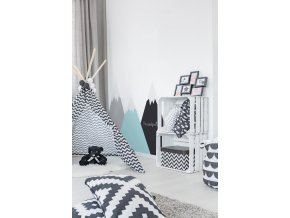 Dekorace za postel DEKORNIK - Hory máta