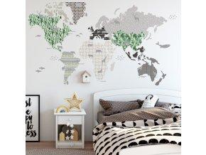 Dekorace na zeď DEKORNIK  - Mapa 5