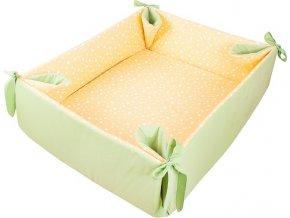 Ohrádka/hrací deka zelená 057 ZU/ZI