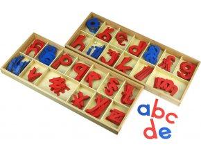 Velká pohyblivá abeceda, dřevěná