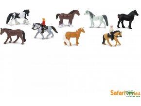 Tuba - koně a jejich jezdci