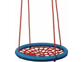 Woody houpací kruh (průměr 85cm) - červeno modrý
