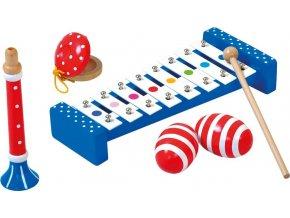 Set hudebních nástrojů Polka