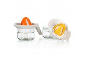 Odšťavňovač citrusů TWISTER sklo 230ml