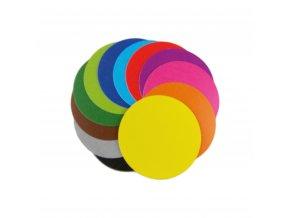 samolepici kolecka barvy