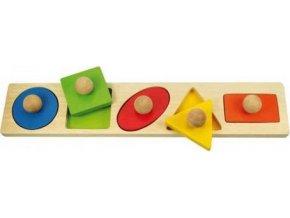Vkládací puzzle tvary