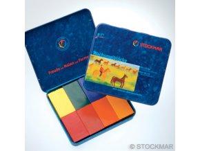 Voskovky Stockmar bločky 8ks Waldorf mix