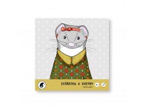 Zvířátka a svetry - Vyšívání Zuzana Šuleková