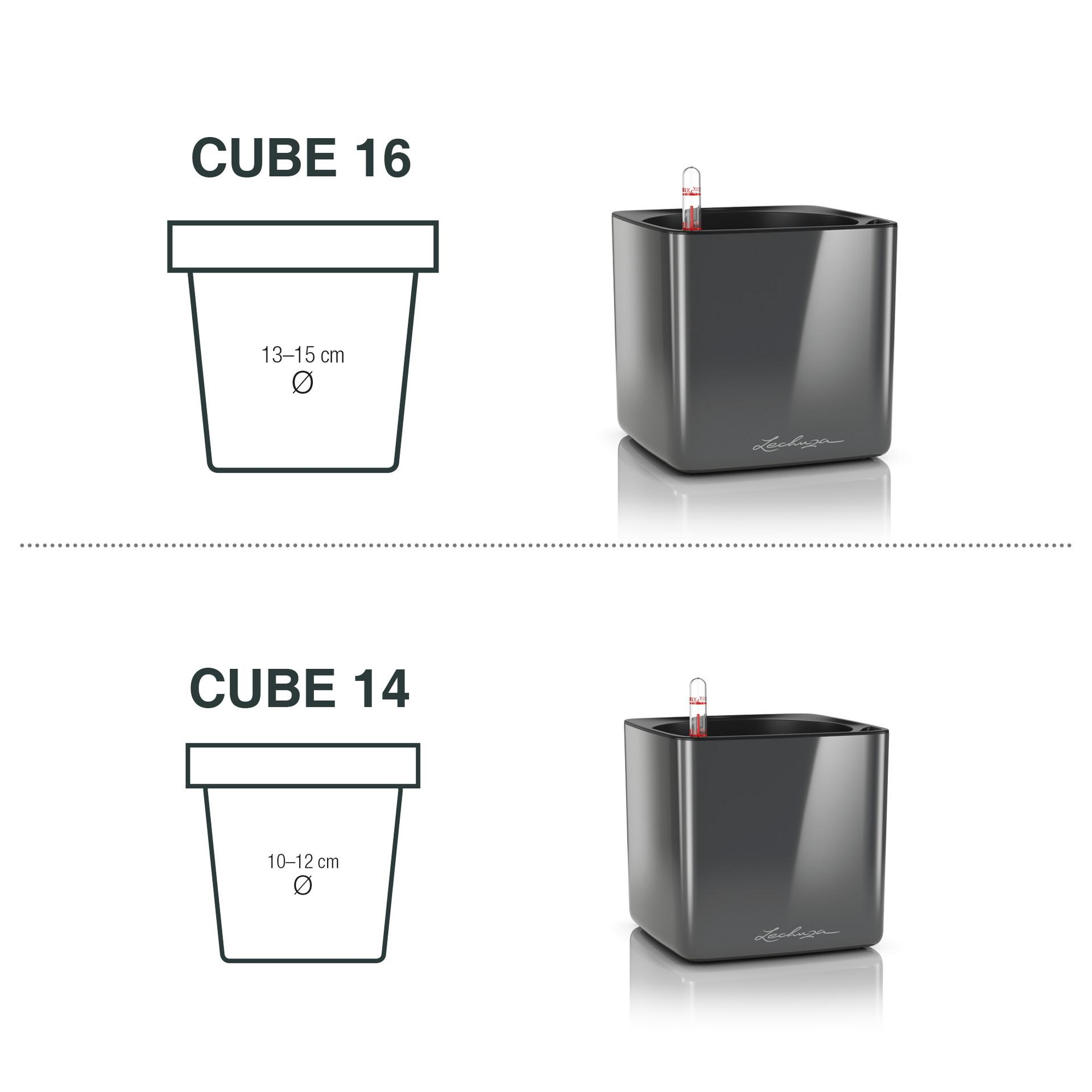 Cube Glossy rozměry