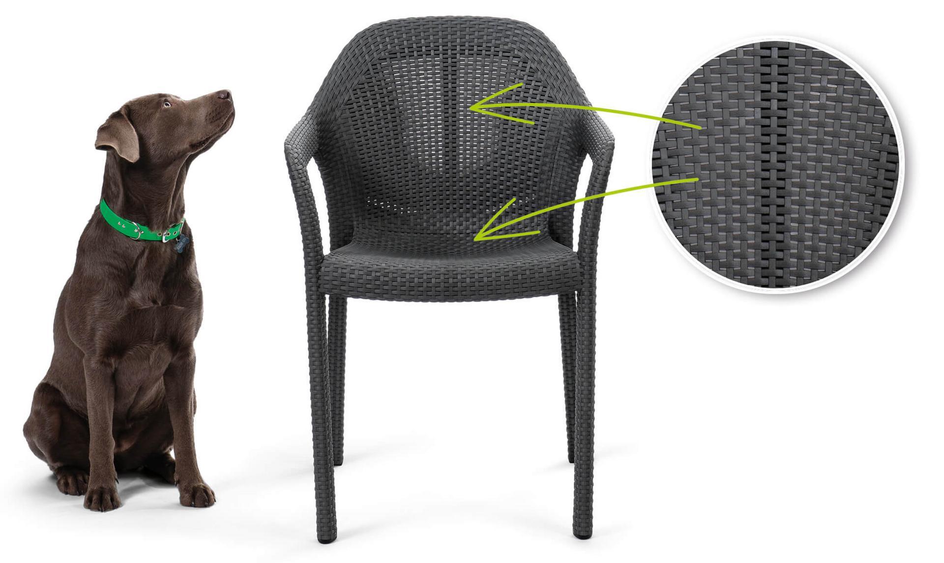 Židle propustnost