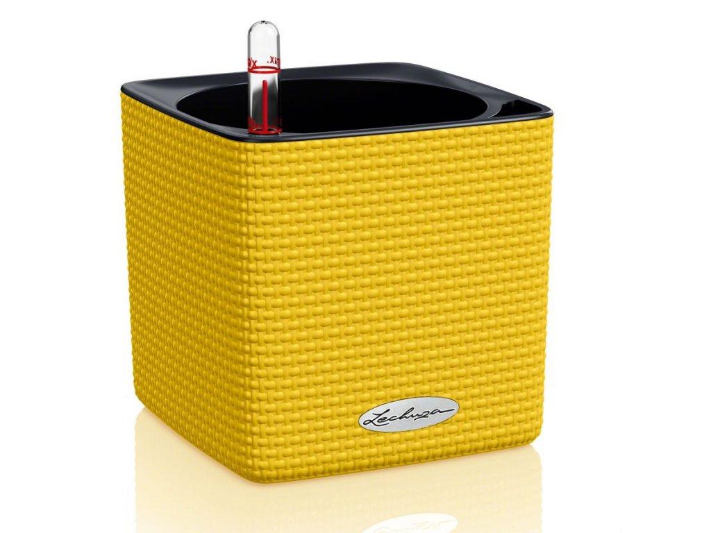 Lechuza Cube Color 14 (kompletní set) žlutá