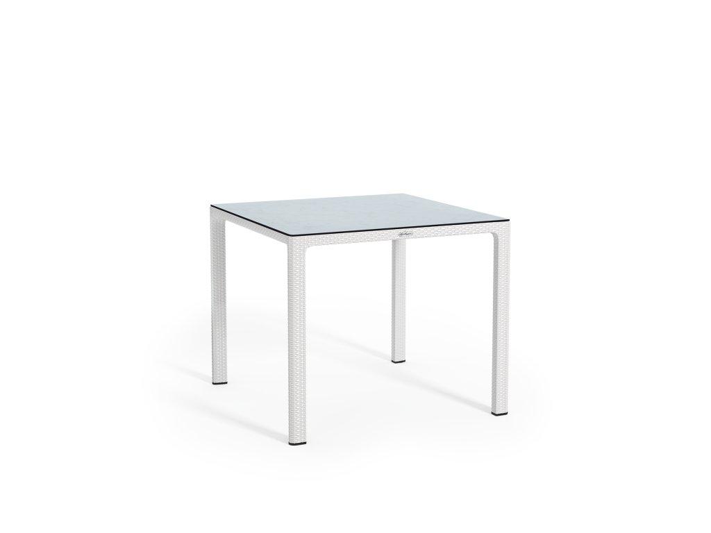 Stůl malý HPL bílá