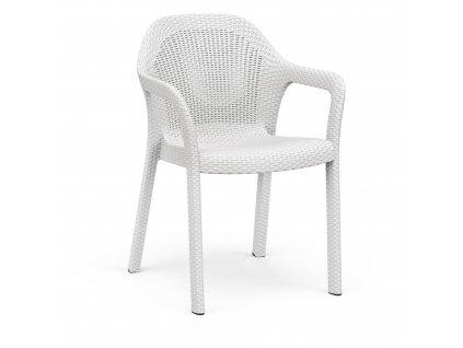 Židle bílá