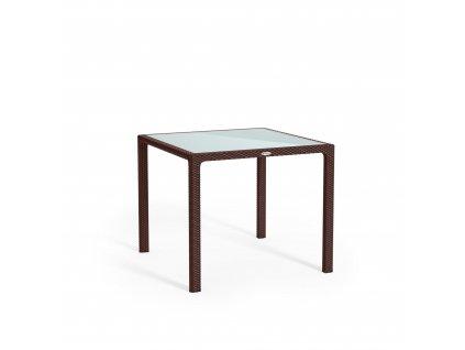 Stůl malý mokka