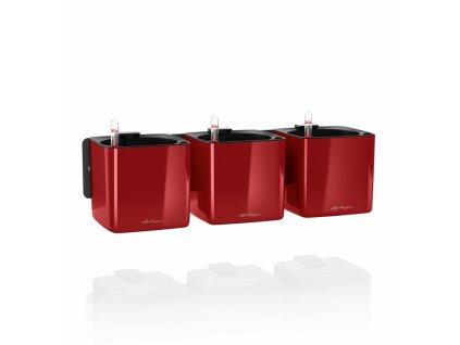 Cube Glossy Green Wall červená
