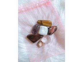 Set tromlovaných kamínků