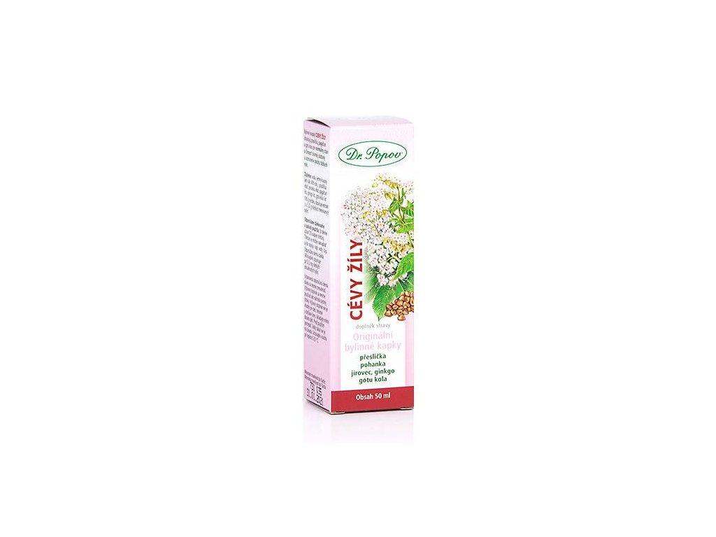 Cévy - žíly orig.bylinné kapky 50ml