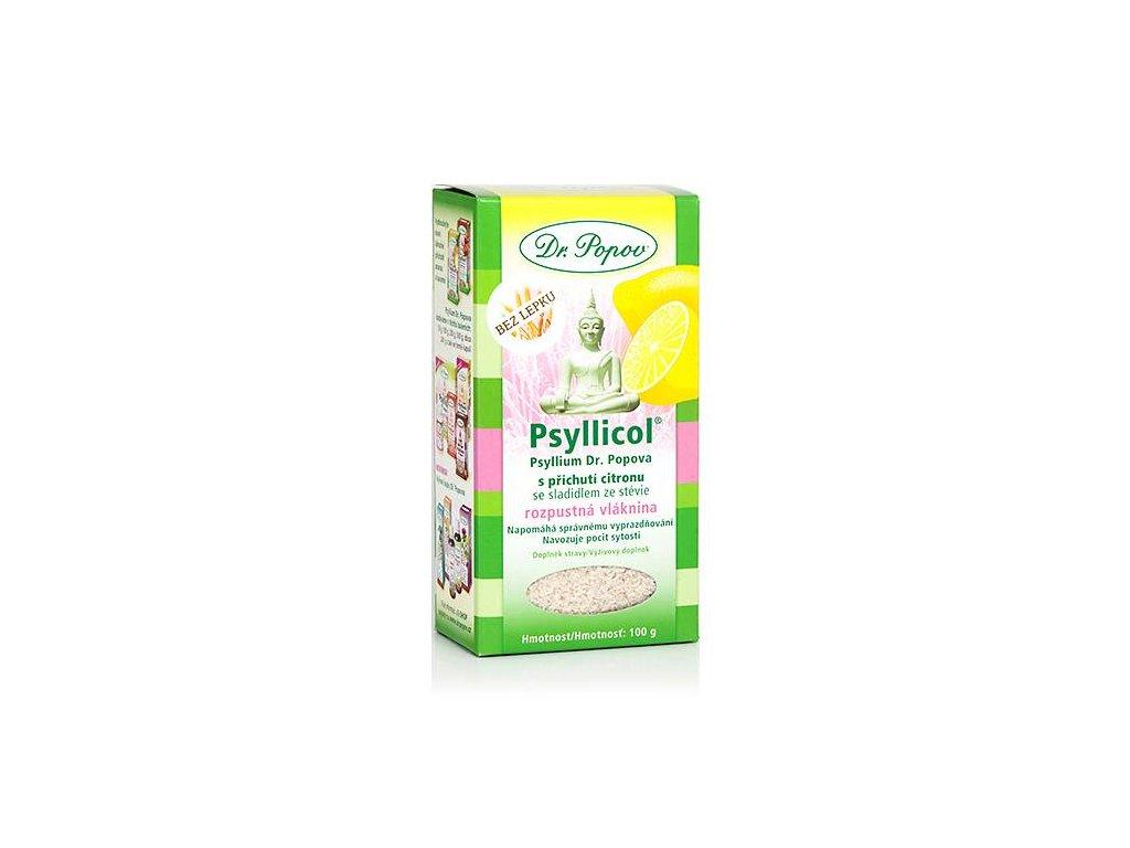 Psyllicol s příchutí citronu 100 g