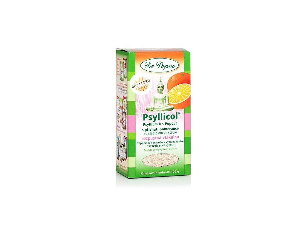 Psyllicol s příchutí pomeranče 100 g