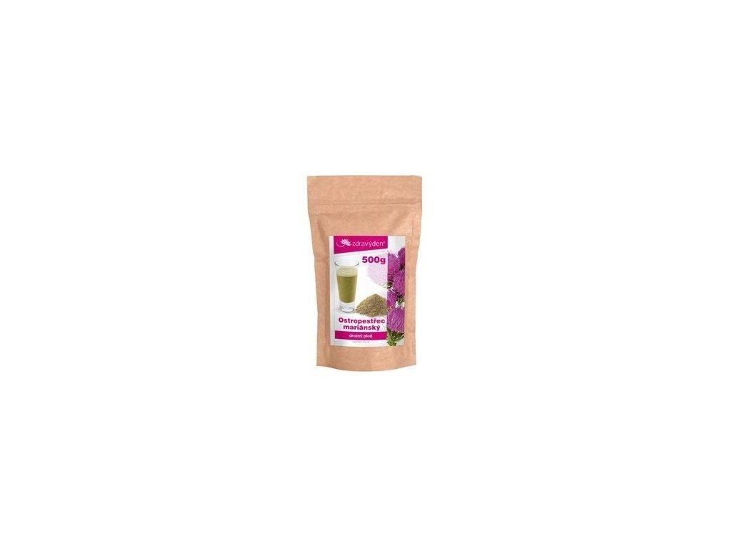 ostropestrec mariansky drceny plod 500g(3)