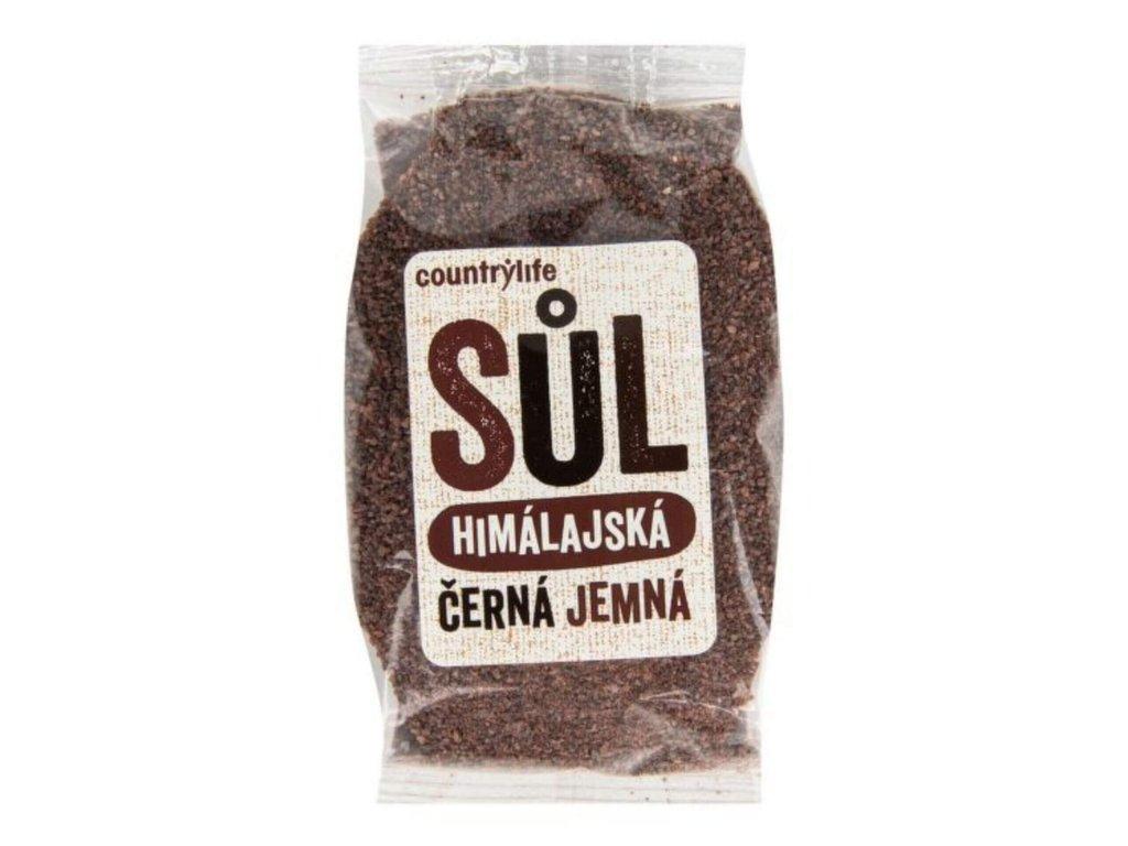 Sůl himalájská černá jemná 250g