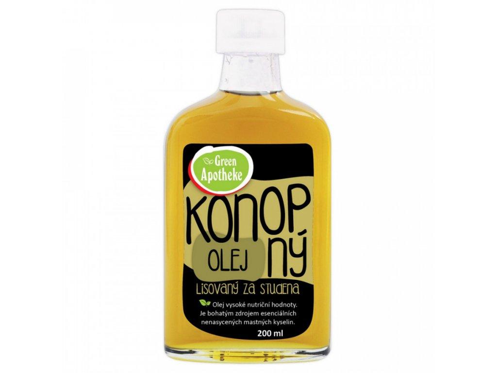 Konopný olej 200ml Green Apotheke