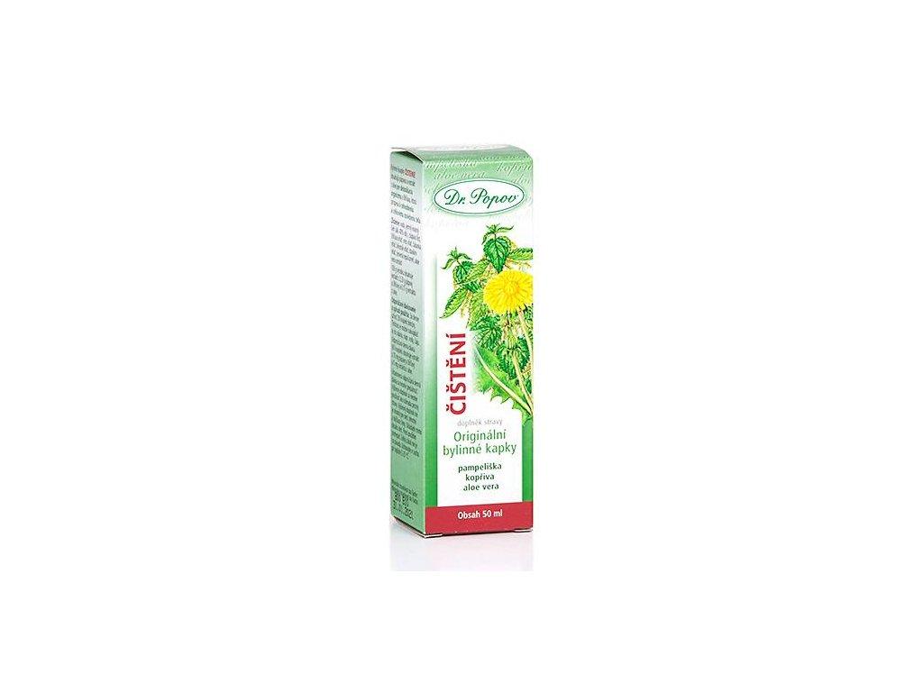 Čištění orig.bylinné kapky, 50 ml
