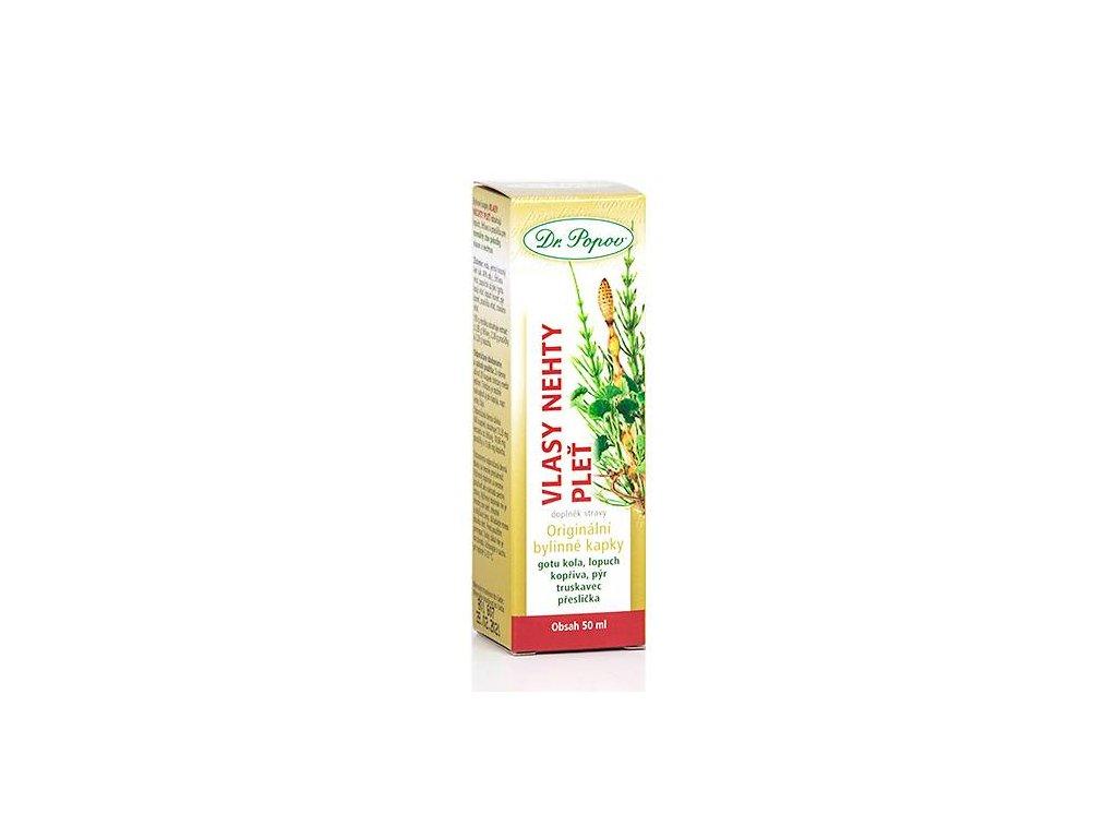 Vlasy-nehty-pleť , orig.bylinné kapky 50ml