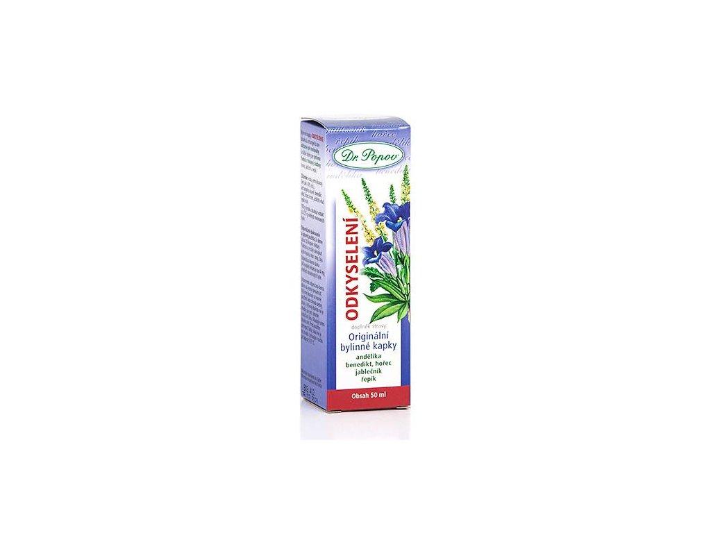 Odkyselení orig.bylinné kapky, 50 ml