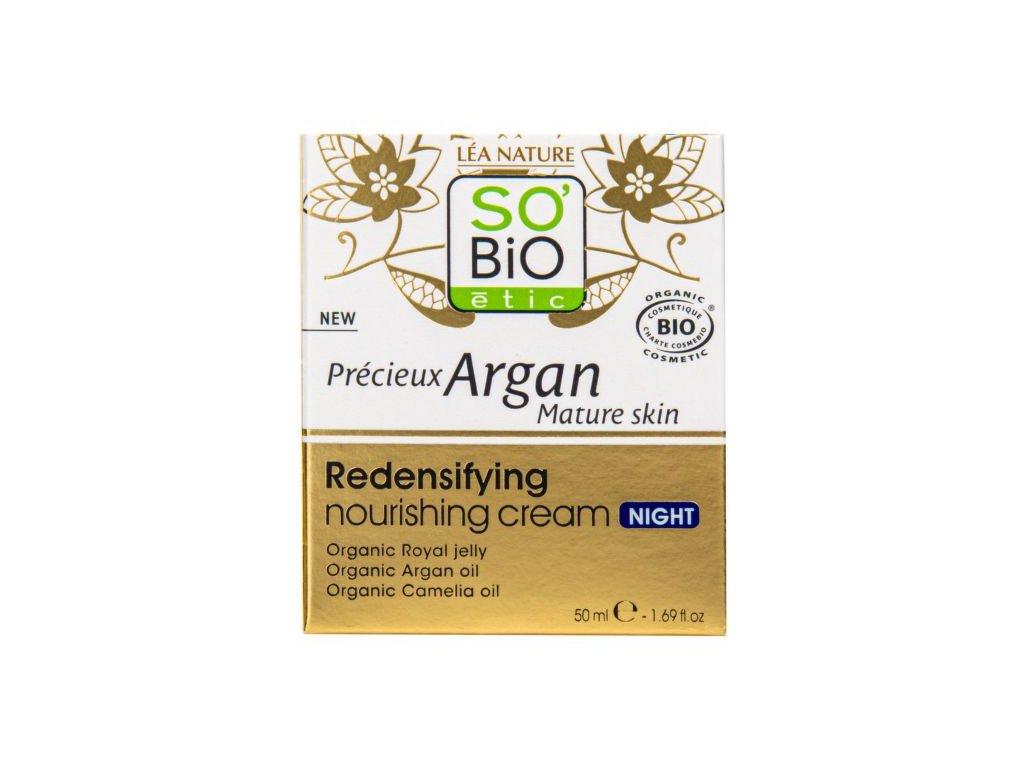 9650 so bio etic krem nocni vyzivny a zpevnujici pro zralou plet precieux argan 50 ml bio