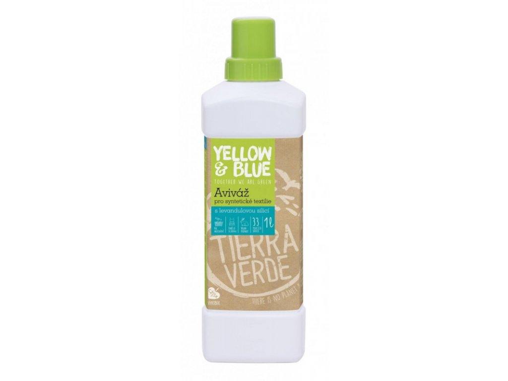 2268 yellow blue avivaz s levanduli 1 l pro zjemneni syntetickeho pradla