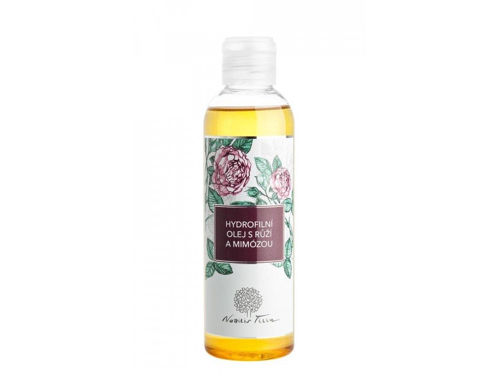 Nobilis Tilia Hydrofilní olej s Růží a Mimózou 200 ml (Objem 500ml)