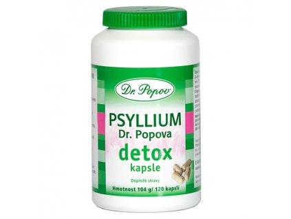 psyllium detox kapsle