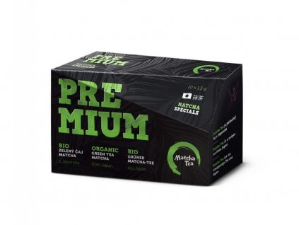 matcha tea premium vizualizace low